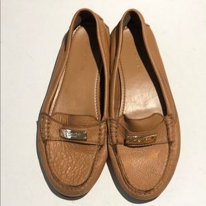 Authentic Coach ~ loafers ~ Caramel ~ Size 7.5B